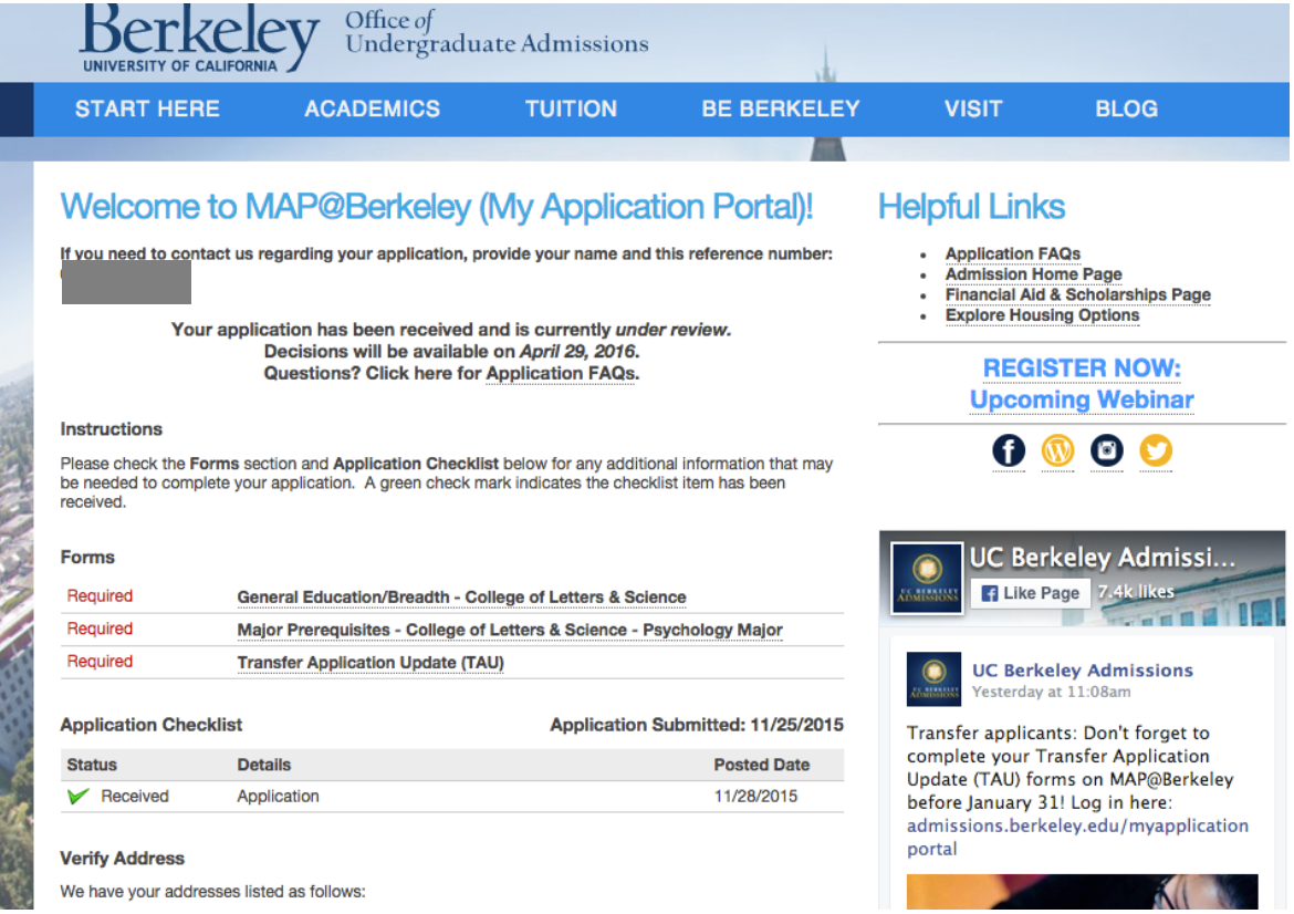 Uc Berkeley Letter Writing service